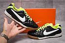 Кроссовки мужские Nike Tiempo, черные (13963) размеры в наличии ► [  42 43  ], фото 2