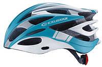 Шлем EXUSTAR BHM106 размер S/M 55-58см голубой