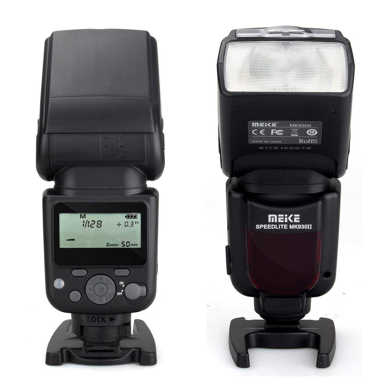 Вспышка Meike Speedlite MK-930 Mark II (для Canon, Nikon, Sony, Olympus и др.)