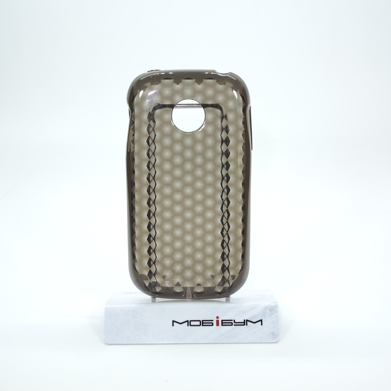 Чехол TPU LG Optimus P690 black диамант