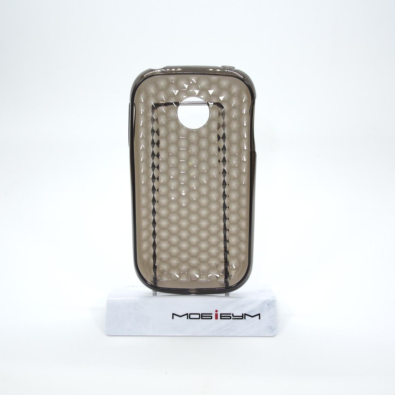 Чехлы для LG TPU Optimus P690 black диамант