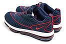 Кроссовки мужские Nike Air Max, синие (14057) размеры в наличии ► [  41 43  ], фото 8