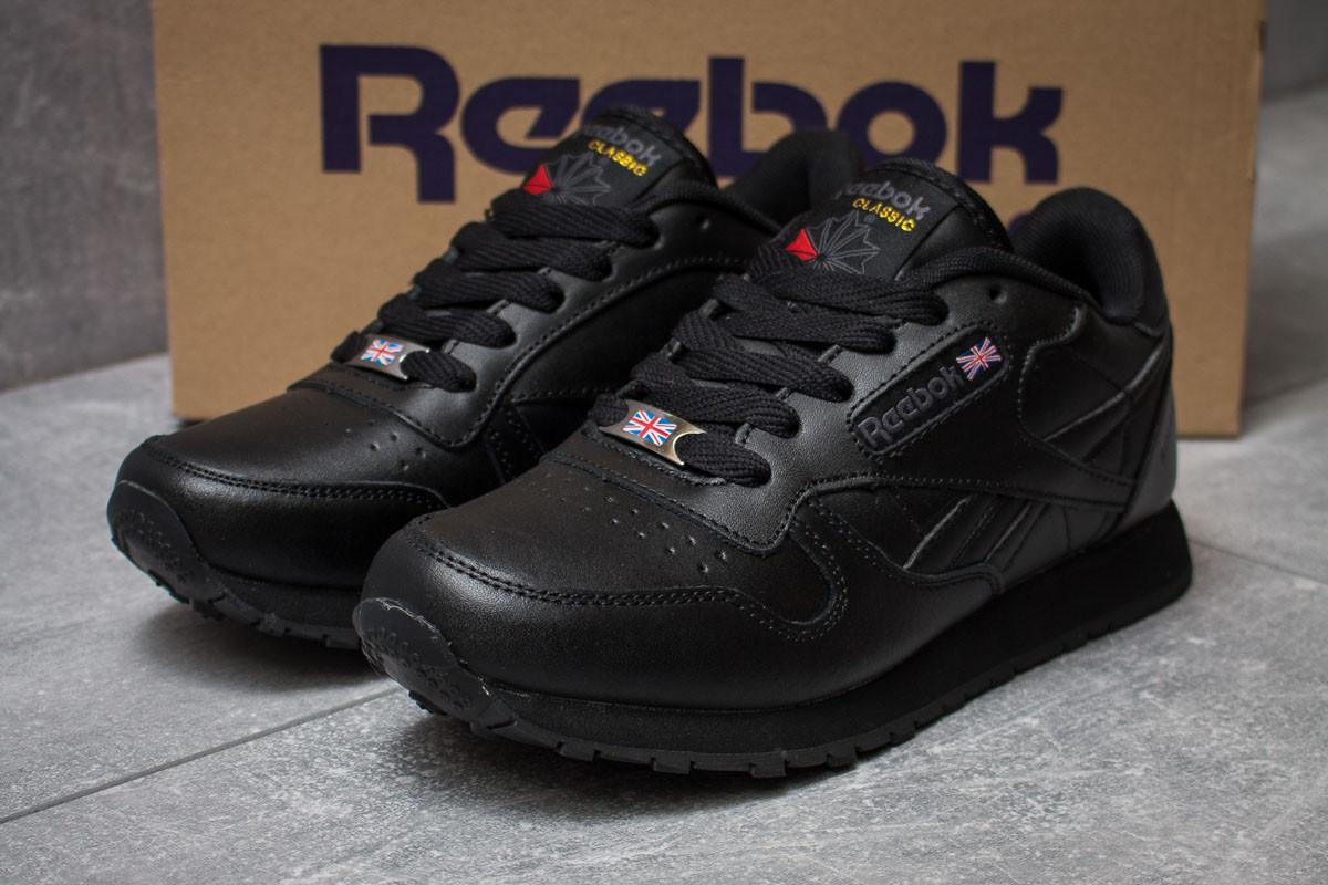 Кроссовки женские Reebok Classic, черные (14431) размеры в наличии ► [  39 40  ]