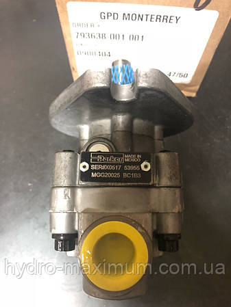 Гидромотор Parker BC1B3 MGG20025 (0900404)  810-273C привод турбины GREAT PLAINS (привода сеялки) MGG20025