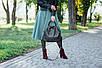 Женская кожаная сумочка 31 черный флотар 01310101, фото 2