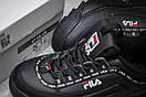 Кроссовки женские  Fila Disruptor 2, черные (14761) размеры в наличии ► [  36 37 38 39 40  ], фото 6