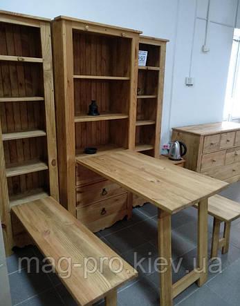 Шкаф деревянный, сосна (натуральное дерево), фото 2