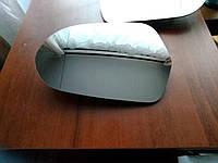 Зеркальный элемент (стекло зеркала) Ауди(AUDI) А6 С7 лівый асферический с обогревом