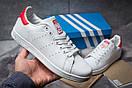 Кроссовки мужские Adidas Stan Smith, белые (14782) размеры в наличии ► [  44 (последняя пара)  ], фото 2