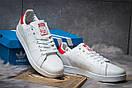 Кроссовки мужские Adidas Stan Smith, белые (14782) размеры в наличии ► [  44 (последняя пара)  ], фото 3