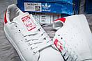 Кроссовки мужские Adidas Stan Smith, белые (14782) размеры в наличии ► [  44 (последняя пара)  ], фото 6