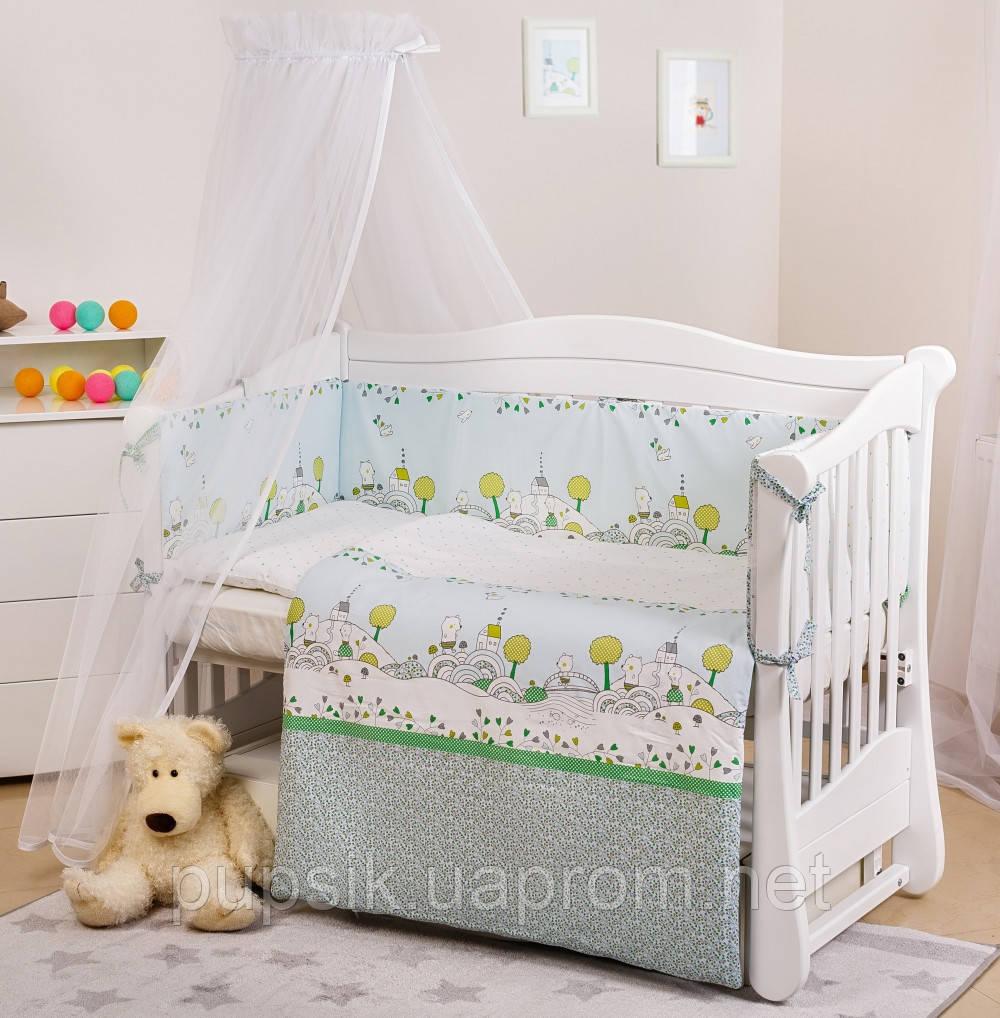 Постельный комплект новорожденного Twins Eco Line (6 элементов)