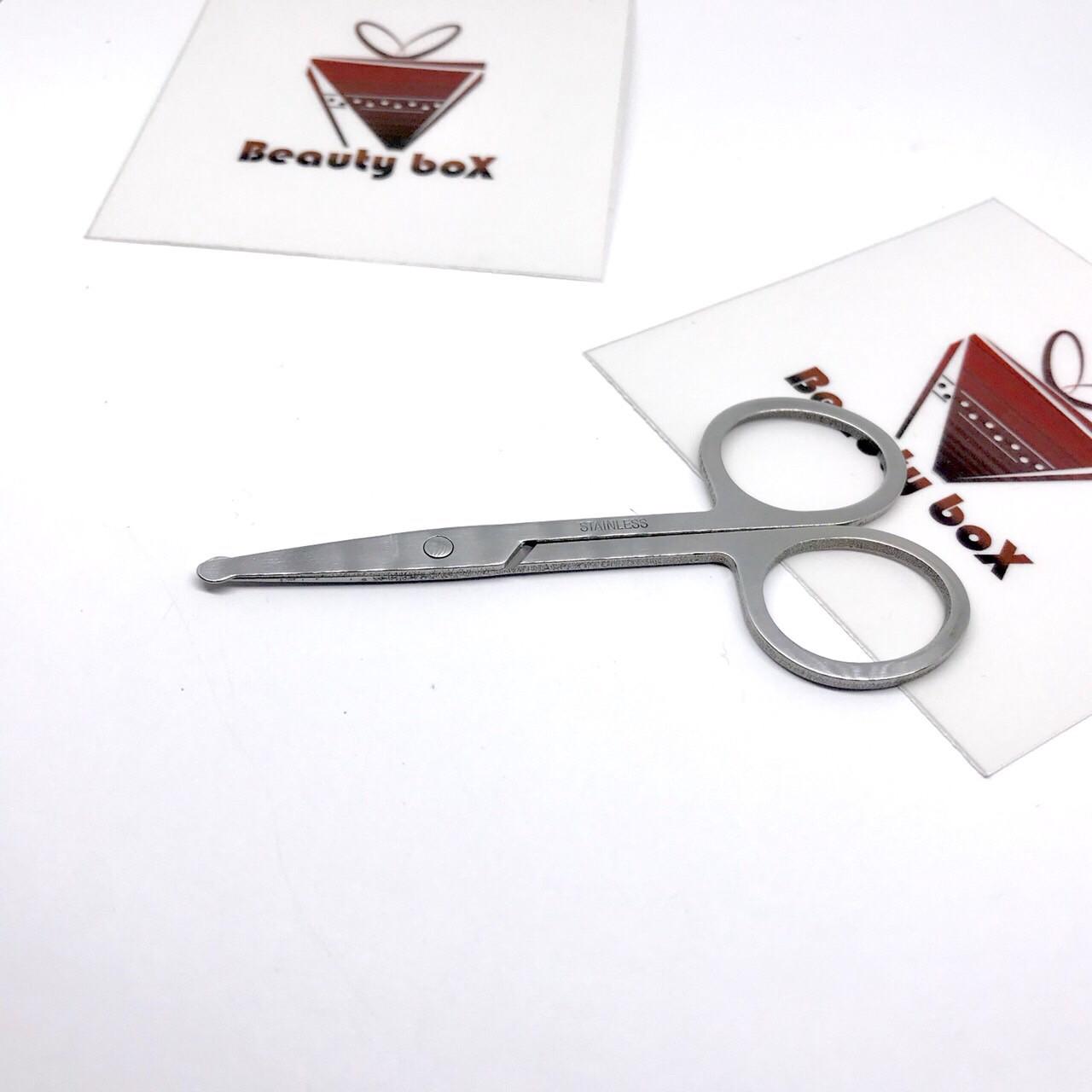 Маникюрные ножницы с закруглёнными концами  Zinger