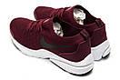 Кроссовки мужские Nike Air, бордовые (12552) размеры в наличии ► [  41 (последняя пара)  ], фото 8