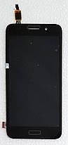 Модуль (сенсор + дисплей) для  Huawei Y3 2017 (CRO-U00) чорний, фото 3