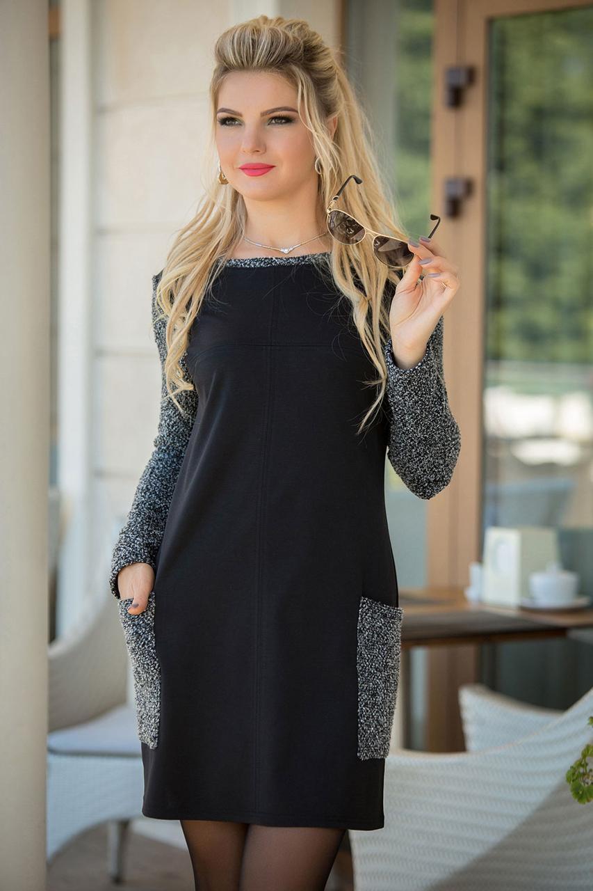 f6edfc49cdf Ника трикотажное Платье трапеция - LILIT ODESSA оптово-розничный магазин женской  одежды в Одессе