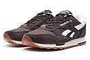 Кроссовки мужские Reebok Classic, коричневые (13265) размеры в наличии ► [  43 (последняя пара)  ], фото 7