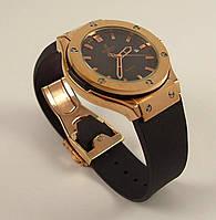Мужские наручные часы Hublot Geneve Big Bang 582666 бронза с черным