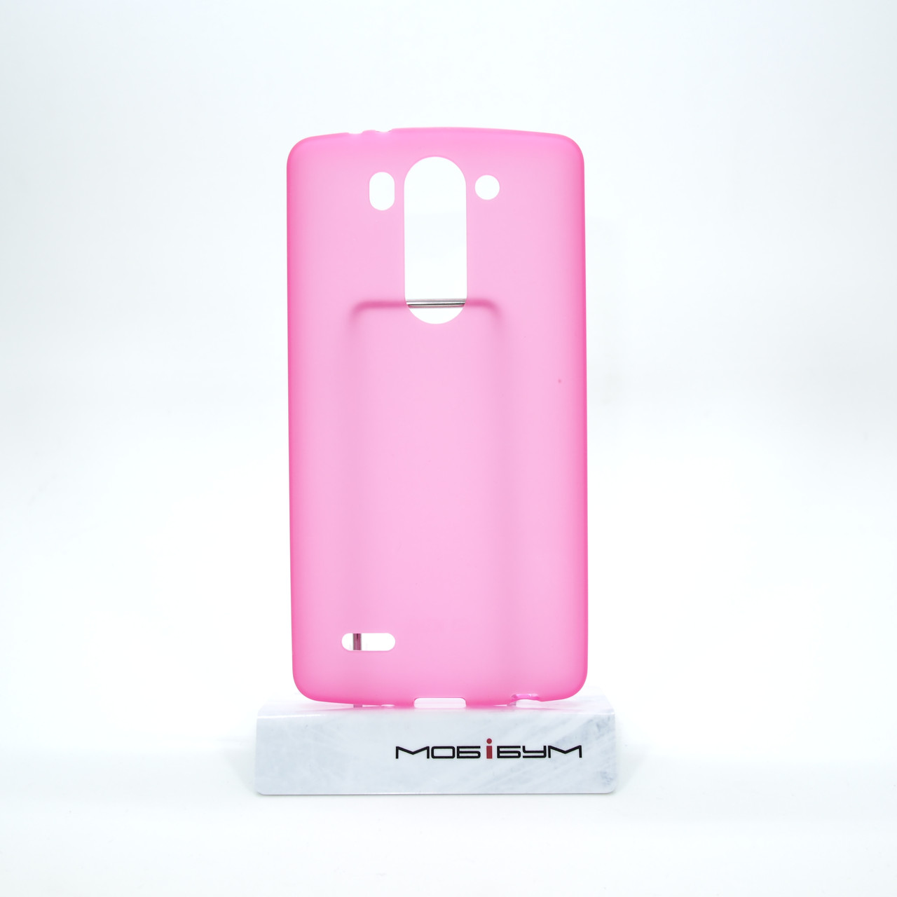 Чехол Silicon LG G3s D724 pink