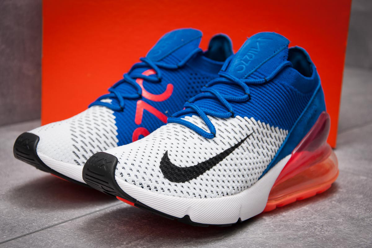 Кроссовки мужские Nike Air Max 270, синие (13424) размеры в наличии ► [  43 (последняя пара)  ]