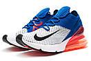 Кроссовки мужские Nike Air Max 270, синие (13424) размеры в наличии ► [  43 (последняя пара)  ], фото 7