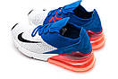 Кроссовки мужские Nike Air Max 270, синие (13424) размеры в наличии ► [  43 (последняя пара)  ], фото 8