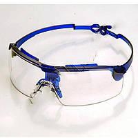 Очки (код 808) поворотные удлинённые дужки, стекло поликарбонат (ZO-0035 )