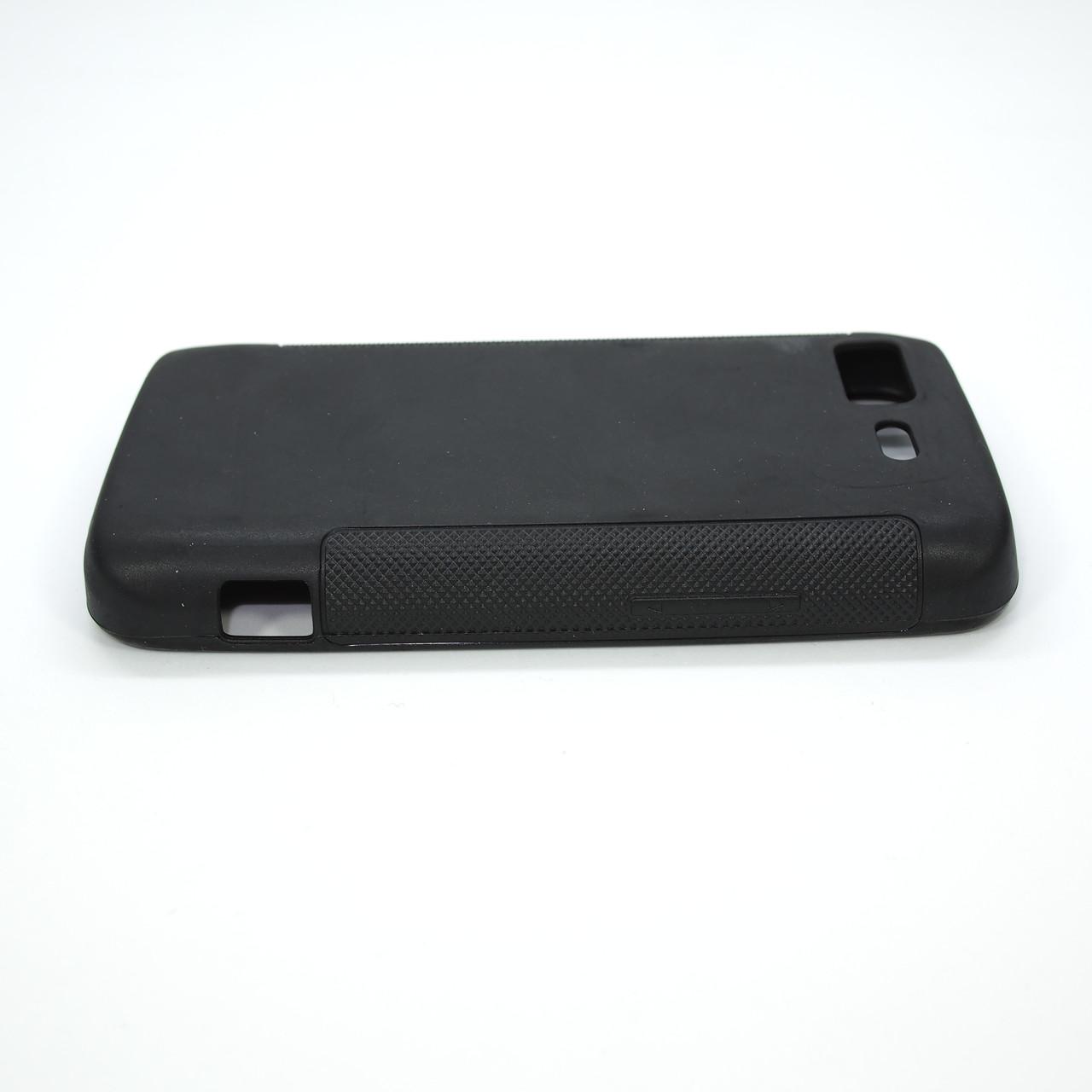 Чехлы для LG TPU Optimus 2X P990 black transparent