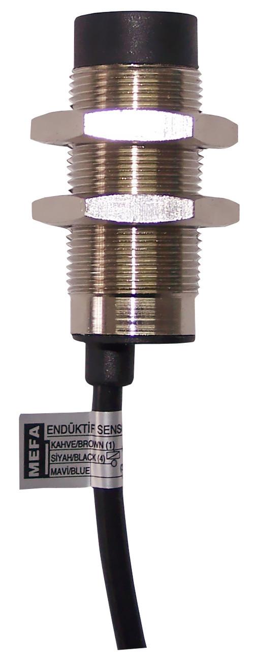 Индуктивный датчик металлический , 2-х проводный,кабельный, DC