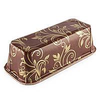 Форма одноразовая для кекса коричнево-золотая Plumpy 158*55*52