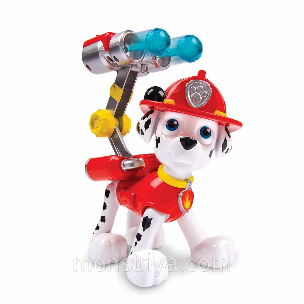 «Щенячий патруль»: большая фигурка щенка с механической функцией. PAWpatrol, Маршал