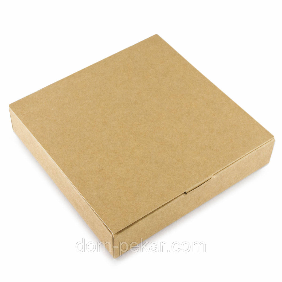 Упаковка для конфет с 9 ячейками крафт ВП 153*153*30мм (одинарная)