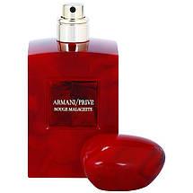 Giorgio Armani Prive Rouge Malachite парфюмированная вода 100 ml. (Тестер Армани Прайв Красный Малахит), фото 2