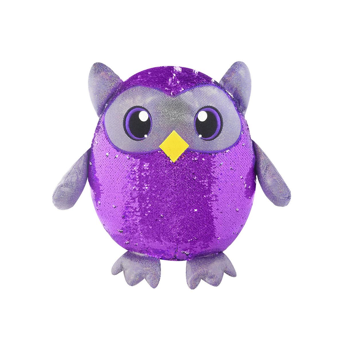Мягкая игрушка с пайетками МУДРАЯ СОВА Shimmeez SMZ01022