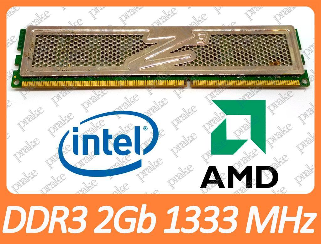 DDR3 2GB 1333 MHz (PC3-10600) CL7 OCZ OCZ3P1333LV6GK