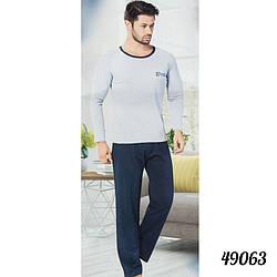 Зимняя пижама мужская на байке COTTON MORE Турция 49063