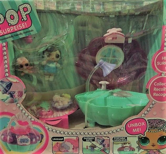 Лол ракушка/ лол джакузи с водой / Лол ванная /Лол СПА-салон (копия LOL хорошего качества)