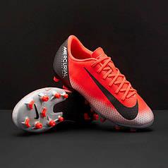Детские Бутсы Nike Mercurial VaporX 12 Academy GS CR7 FG MG AJ3089-600 ( 9e256accec3