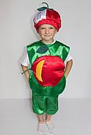 Детский карнавальный костюм Яблоко №1