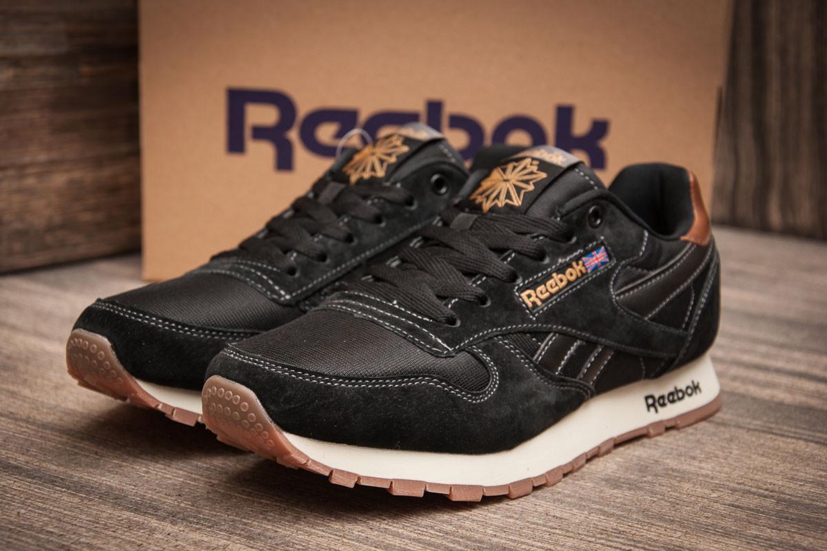 Кроссовки мужские Reebok Classic, черные (11381) размеры в наличии ► [  45 46  ]