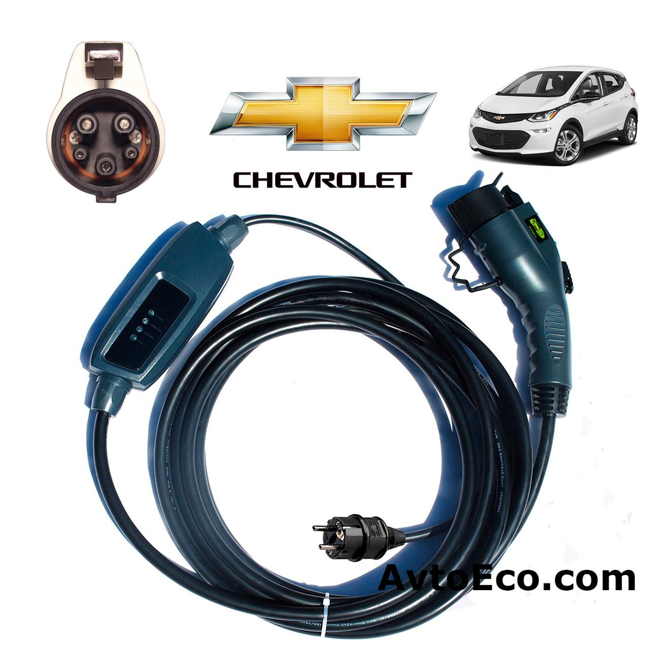 Зарядное устройство для электромобиля Chevrolet Bolt Duosida J1772-16A