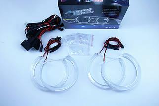 Ангельские глазки crystal (4*131 мм) LED для BMW E39 белый, фото 3