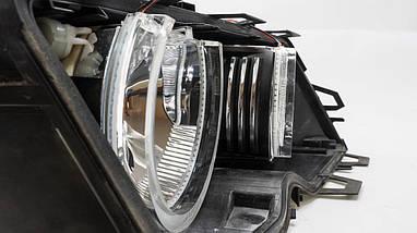 Ангельські оченята crystal (4*131 мм) LED для BMW E39 білий, фото 3