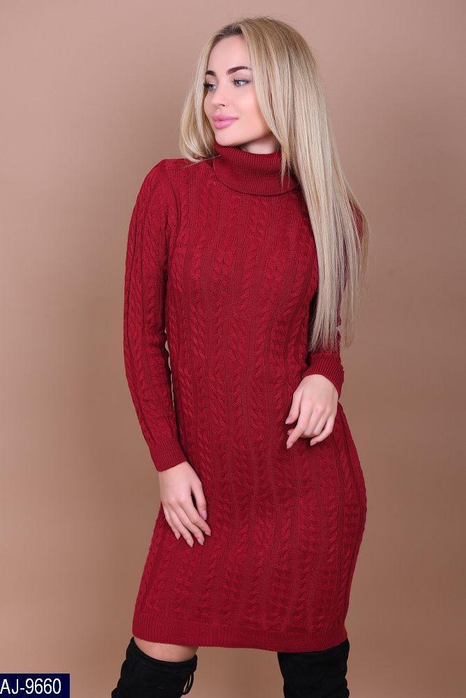 007a7db7c15eed7 Купить Женское вязаное платье производство Турция в магазине «Аlion ...