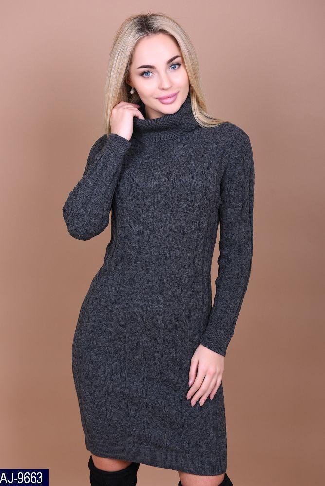 2292722e226c54f Женское вязаное платье производство Турция - Интернет- магазин