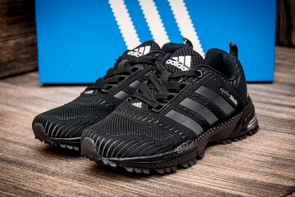 Кроссовки женские Adidas Spring Blade, черные (2543-2) размеры в наличии ► [  36 (последняя пара)  ]