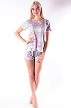 Молодежная пижама слоники