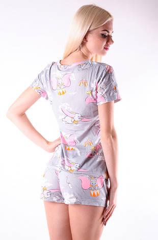 Молодежная пижама слоники, фото 2