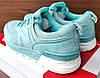 Подростковые, детские голубые кроссовки New Balance 574 , фото 2