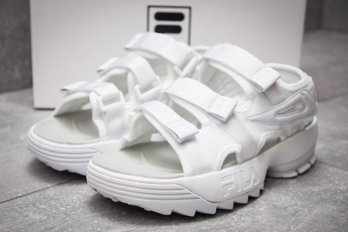 Сандалии женские  Fila Disruptor SD, белые (13482) размеры в наличии ► [  36 37  ]